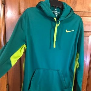 EUC, I love this Lime green on green Nike pullover